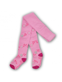 Girls cotton tights FLOWERS...