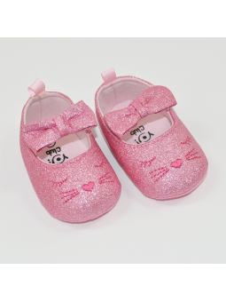 Baby girls shoes sparkling...