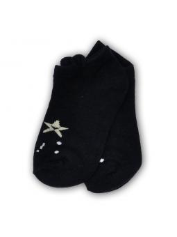 Trumpos kojinės juodos
