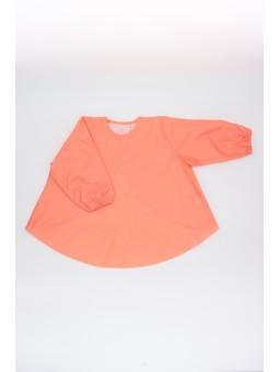 Baby bip - apron coral