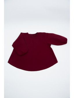 Baby bip - apron burgundy