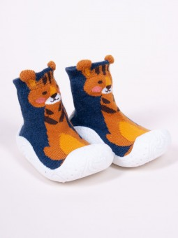 Socks - shoes with rubber...