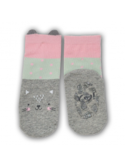 Silicone sole socks KITTY
