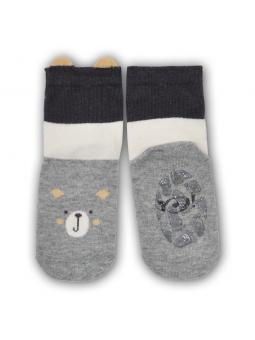 Silicone sole socks Bear