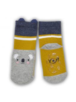 Silicone sole socks Panda