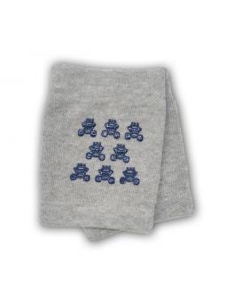 Crawling knee pads grey