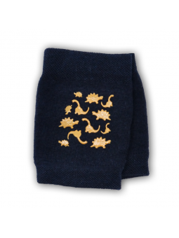 Crawling knee pads navy blue
