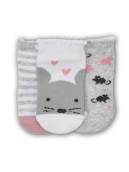 Baby girls socks set 3...