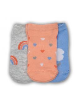 Baby girls socks set 3 pairs