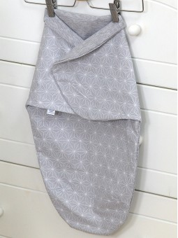 Baby wrap SKY BUNNY grey