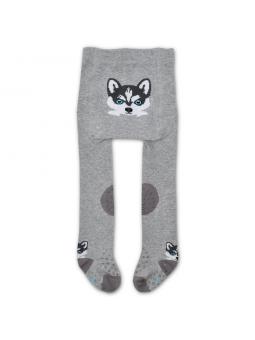 Crawling tights WOLF grey