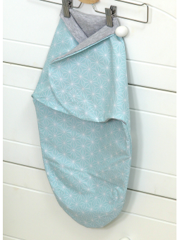 Baby wrap SKY BUNNY mint