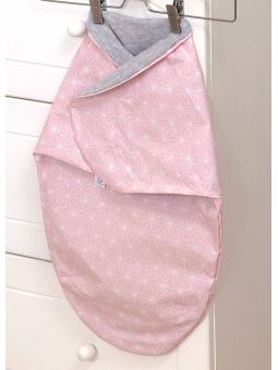 Baby wrap SKY BUNNY pink