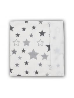 Waterproof diaper STAR white