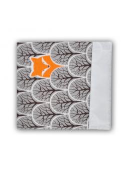 Waterproof diaper FOX graphite