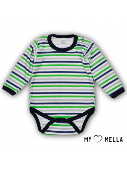Baby bodysuite striped