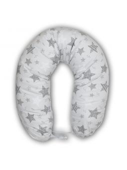 Breastfeeding pillow grey