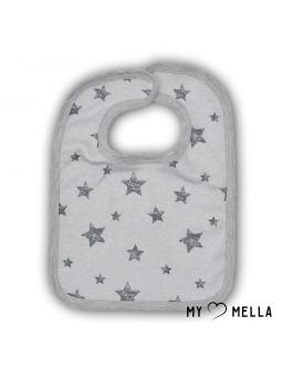 Baby bip STARS grey