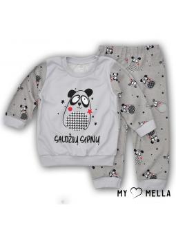 Pajamas SWEET DREAMS grey