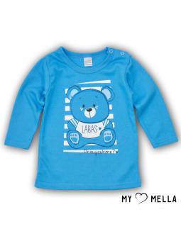T Shirts HELLO blue