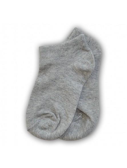 Pilkos trumpos kojinės