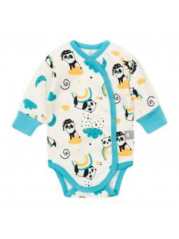 Kimono baby bodysuite PANDA...