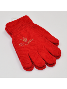 Kids gloves red