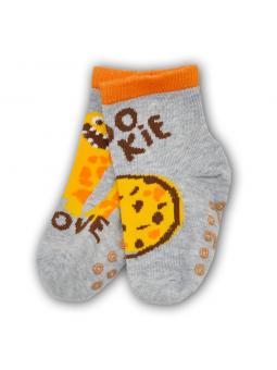 Boys ABS socks COOKIE grey