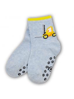 Boys ABS socks blue
