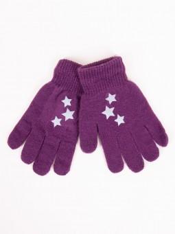 Kids gloves purple