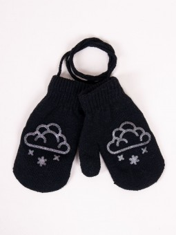 Kids gloves double layer...