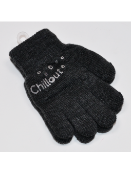 Double kids gloves graphite