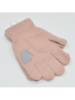 Girls gloves UNICORN powder...