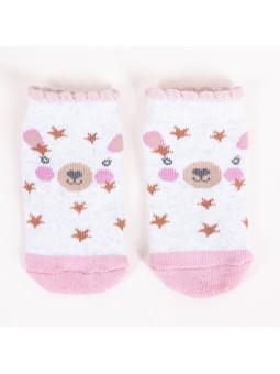 Terry baby girl socks Bear...