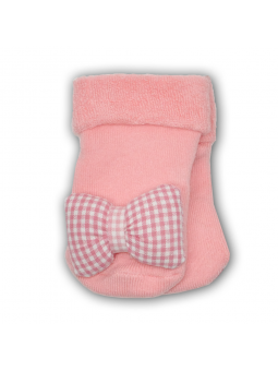 Girls terry socks with toys...