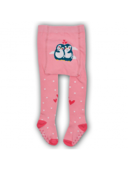 Cotton girls tights ABS pink