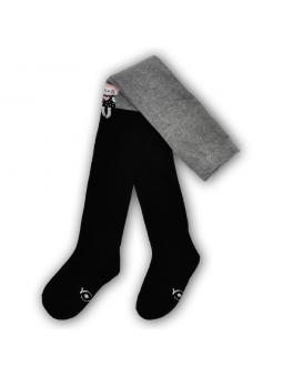 Pėdkelnės juoda pilka