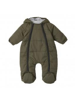 Baby overall winter khaki