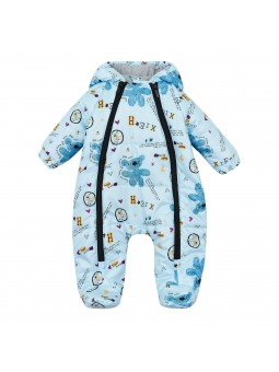 Baby overall winter blue...
