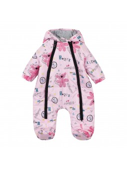 Baby overall winter pink...