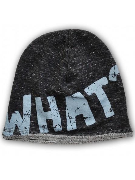 Trikotažinė kepurė WHAT