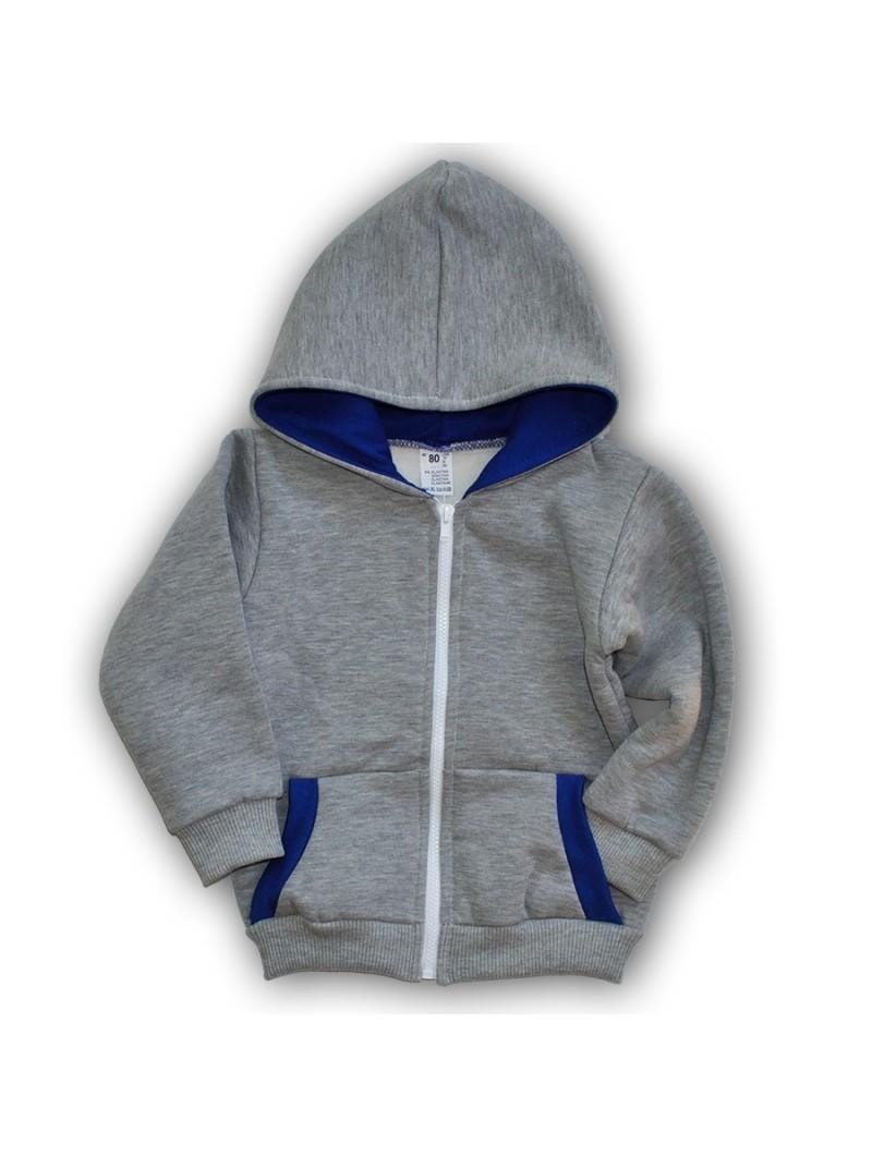 Pilkas džemperis