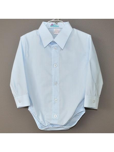 Melsvi marškiniai-smėlinukas