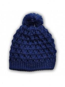 Mėlyna žieminė kepurė