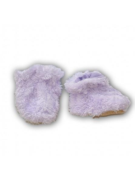 Šviesiai violetiniai batukai kūdikiui
