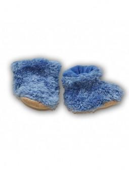 Mėlyni batukai kūdikiui