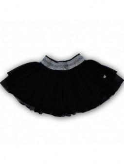 Puošnus juodas sijonas