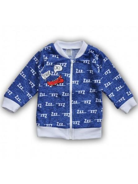 Mėlynas džemperis SMILE