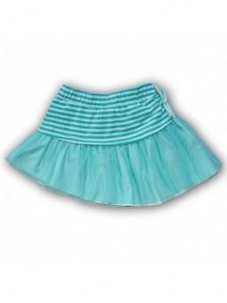Puošnus mėtinės spalvos sijonas