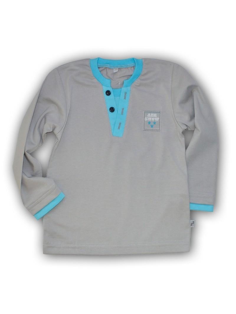 Pilki marškinėliai LANCASTER